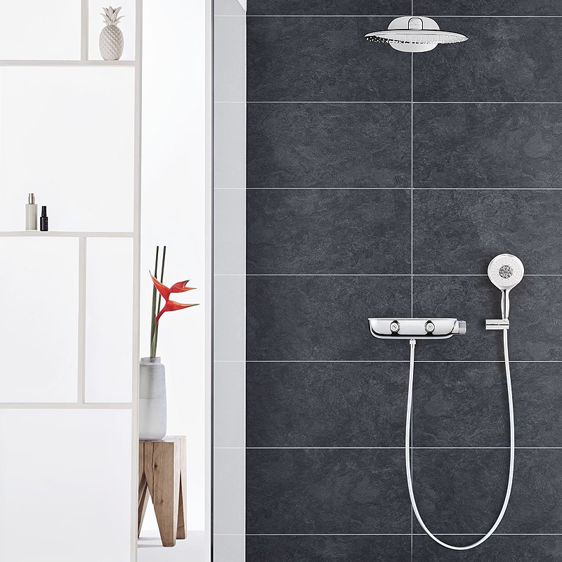 grohe rainshower smartcontrol 360 duo 2 26446000. Black Bedroom Furniture Sets. Home Design Ideas