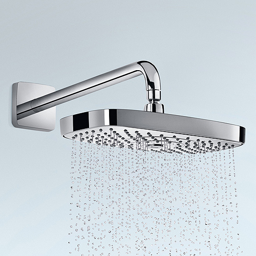 HANSGROHE RAINDANCE SELECT E 300 Душ пита с 2 функции 300х160мм с рамо за стена 390мм 27385000
